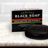 Madina African Black Soap (6-Pack)