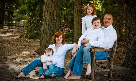 $40 for a Family Photography Package at Trey Allen Photography Wichita ($283 Value)