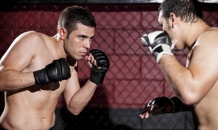 Four Weeks of Unlimited Martial Arts Classes at Guerrilla Fitness & MMA (49% Off)