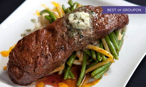 Third and Main: Historic Restaurant and Tavern: Three-Course American Dinner for Two or Four at Third and Main: Historic Restaurant and Tavern (Up to 33% Off)
