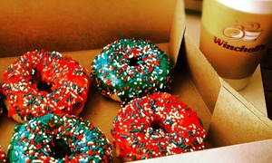 Winchell's Donut House on Hampden: One or Three Dozen Donuts or Punch Card for Five Sandwiches and Coffees at Winchell's Donut House (Up to 46% Off)