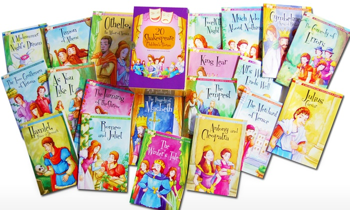 A Shakespeare Children's Story Boxed Set (20-Book)