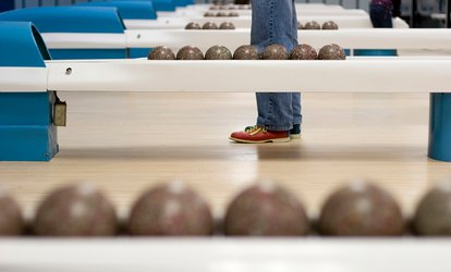 image for $32 for Two Hours of Candlepin <strong>Bowling</strong> for Six with Shoe Rental at Timber Lanes ($60 Value)