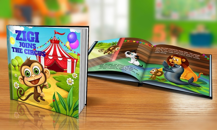 Dinkleboo: $9 or $14 for One Softcover or Hardcover Personalized Kids Book from Dinkleboo (Up to 65% Off)