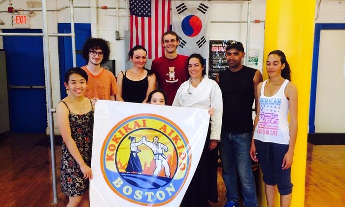 Boston Kokikai Aikido - Boston: $114 for $208 Worth of Martial-Arts Lessons — Boston Kokikai Aikido