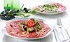 Déjeuner ou dîner italien