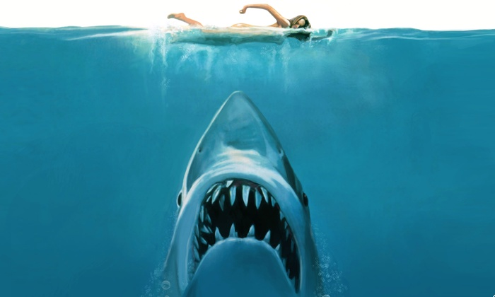 "Movies on the Beach: Jaws - Huntington State Beach: Movies on the Beach: ""Jaws"" at Huntington State Beach on Saturday, August 8 at 8 p.m. (Up to 38% Off)"