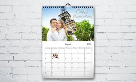 Custom Photo Calendars for $6.99–$29.99 from Printerpix