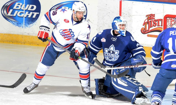 Rochester Americans - Blue Cross Arena: $15 to See a Rochester Americans Hockey Game at Blue Cross Arena on October 10, 11, or 22 ($30.65 Value)
