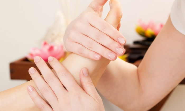 Lovely Nails by Luba at Blades Salon - Oak Park: Spa Pedicure with Optional Reflexology at Lovely Nails by Luba at Blades Salon (Up to 52% Off)