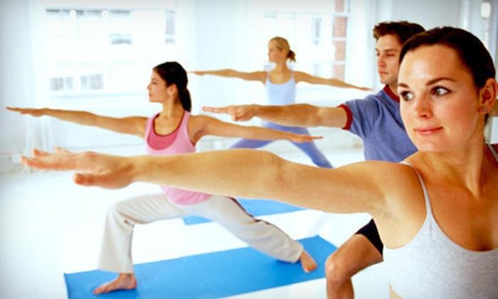 Shanti Yoga - Tsawwassen: $39 for One Month of Unlimited Yoga at Shanti Yoga (Up to $128 Value)