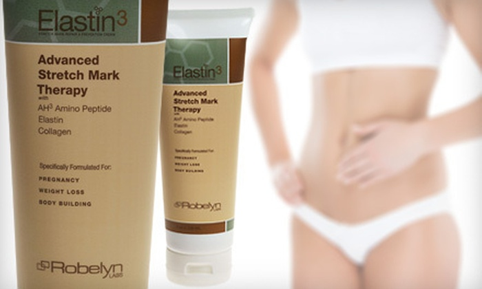 Elastin3 Advanced Stretch Mark Therapy: $34 for an 8-Ounce Bottle of Elastin3 Advanced Stretch Mark Therapy ($79.95 Value). Shipping Included.