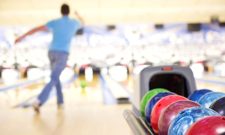 $39 for Two Hours of Bowling for Six with Shoe Rental and $10 Meal Voucher at Champs FEC ($100.84 Value)