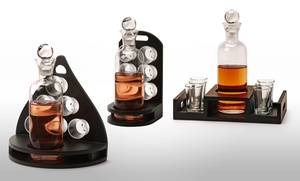 8-piece Decanter And Shot-glass Set