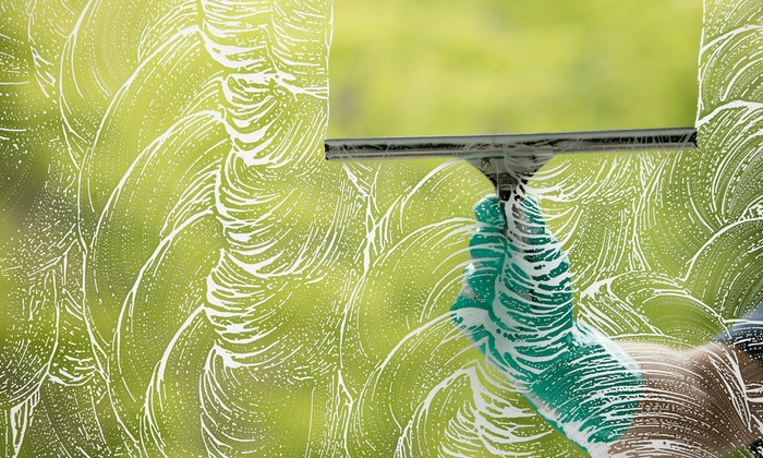 America's Star Window Washing - Maplewood: 100 Feet of Gutter Cleaning, or Two or Four Hours of Window Washing from America's Star Window Washing (Up to 63% Off)
