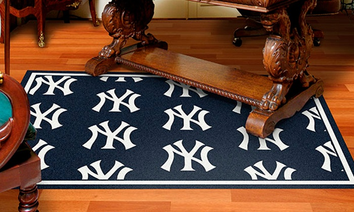 "My Sports Rug: 2'8""x3'10"" Sports Rug or 3'10""x5'4"" Sports Rug from My Sports Rug (Up to 51% Off)"