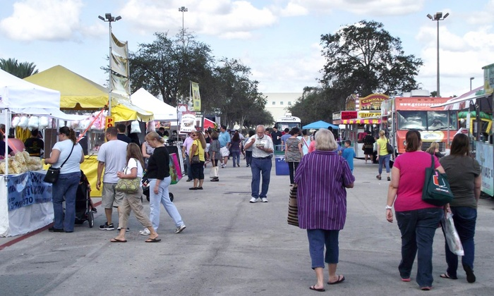 Miami Harvest Festival - Miami Dade Fair Expo : One-Day General Admission for Two or Four at the Miami Harvest Festival (Up to 35% Off)