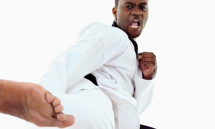 Action Karate - Multiple Locations: 10 or 20 Group Fitness Classes at Action Karate (Up to 88% Off)