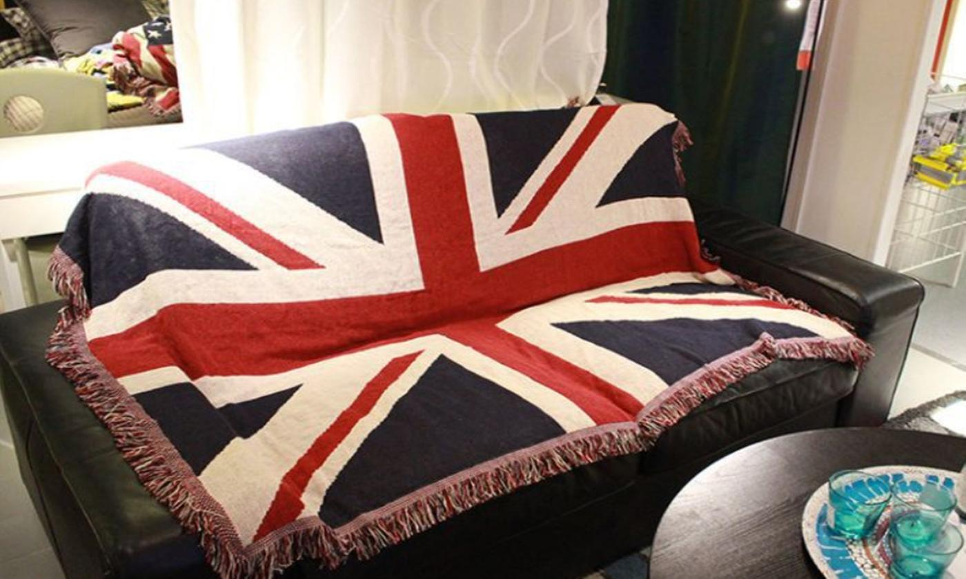 Union Jack Flag Throw