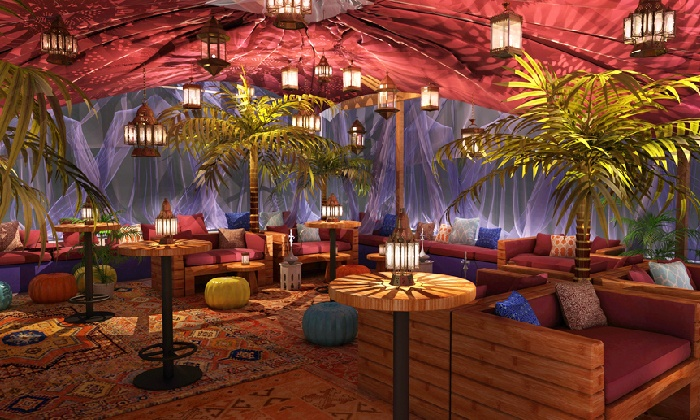 Haven Oasis - Theater District - Times Square: Moroccan-inspired Lunch or Dinner at Haven Oasis (Up to 32% Off). Four Options Available.