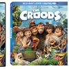 The Croods on DVD or Blu-Ray Triple Play