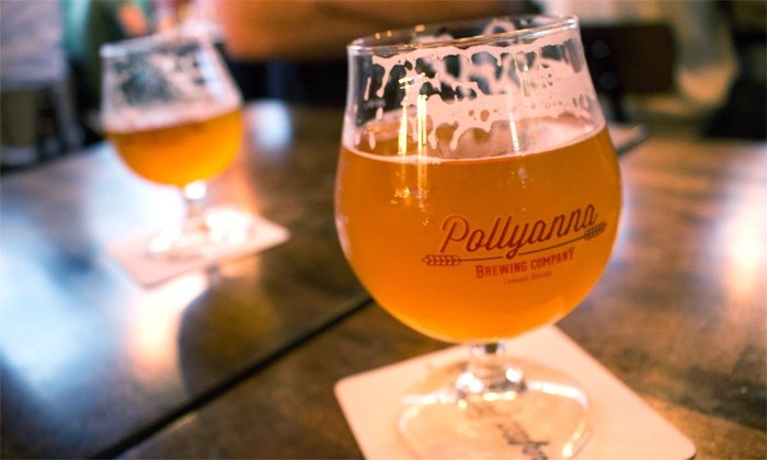 Pollyanna Brewing Company - Piers 2: $19 for Brewery Tour and Tasting for Two at Pollyanna Brewing Company ($30 Value)