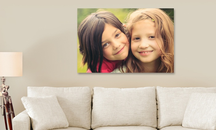 "16""x20"" Personalized Gallery-Wrapped Canvases: Custom Gallery-Wrapped 16""x20"" Canvases from Canvas On Demand. Multiple Options from $29.99–$49.99."