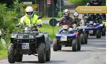 """Quadtour """"Vierländereck"""" für 1 oder 2 Personen mit Quad Abenteuer Europa ab 79 € (bis zu 53% sparen*)"""