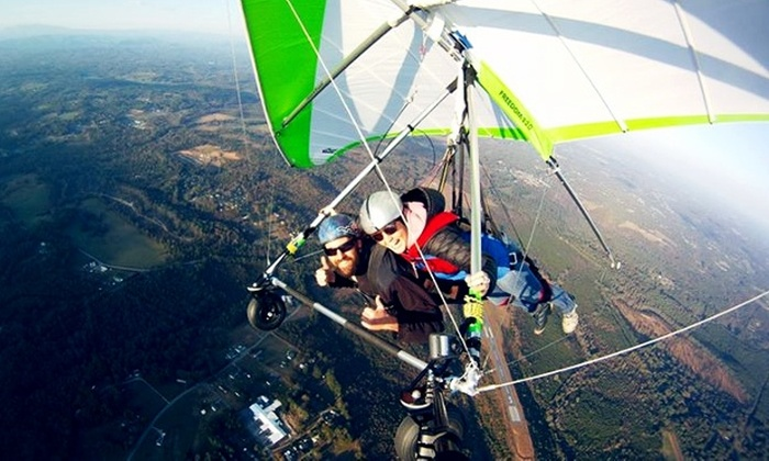Thermal Valley - Asheville: Tandem Hang-Gliding for One at Thermal Valley (30% Off)