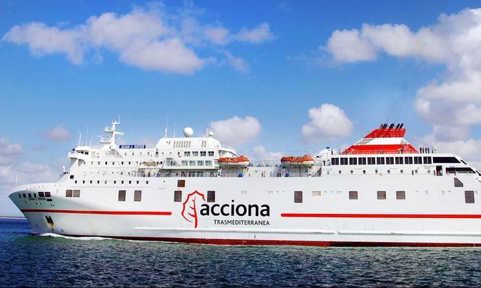 Trasmediterrànea, Ferry Barcelone Majorque | Groupon Getaways