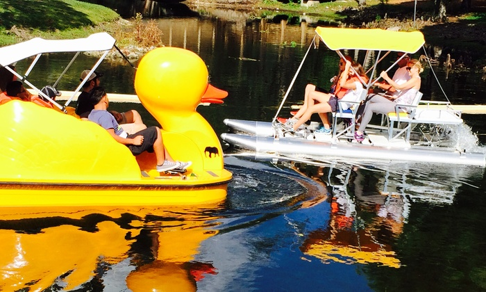Aquatic Sport and Bicycles - Tropical Park: $34 for $65 Worth of One Hour Paddle Boat Rental at Aquatic Sport and Bicycles