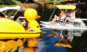 Aquatic Sport and Bicycles: $34 for $65 Worth of One Hour Paddle Boat Rental at Aquatic Sport and Bicycles