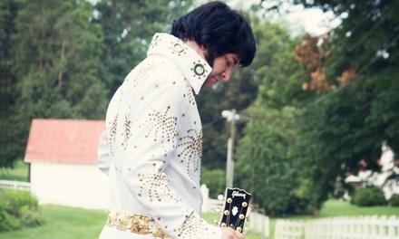 Elvis Live! - A Tribute to Elvis starring Matt Elvis Dollar (Saturday, August 29, at 8 p.m.)