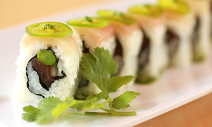 Roll On Sushi Diner (CA) - Burnet Rd.: $11 for $20 Worth of Traditional and Austin-Inspired Sushi at Roll On Sushi Diner