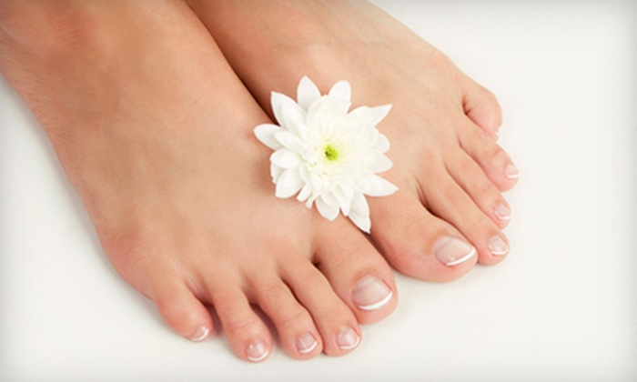 Revo Nails & Spa - Mount Pleasant: One or Two Paraffin Pedicures at Revo Nails & Spa (51% Off)