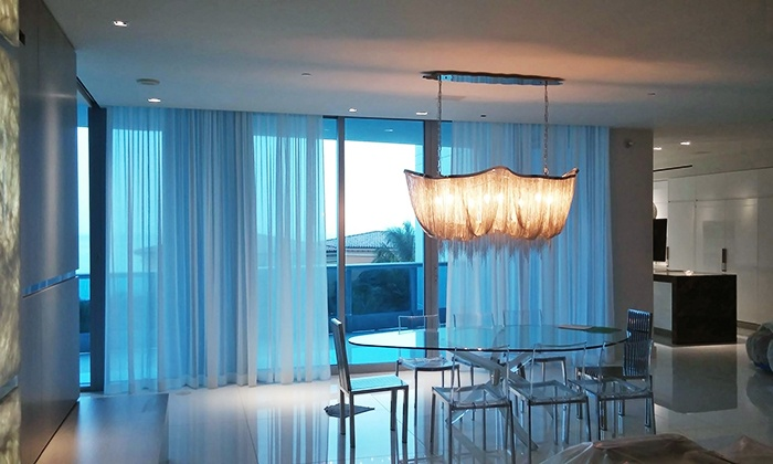 Kolor Shades - Miami: Window Treatments and Installation from Kolor Shades (Up to 57% Off). Four Options Available.