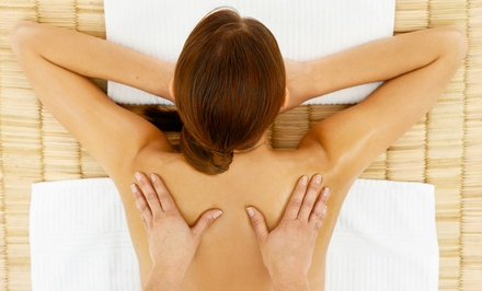Deep-Tissue Massage or Spinal Adjustments at Optimal Wellness Family Chiropractic (Up to 63% Off)