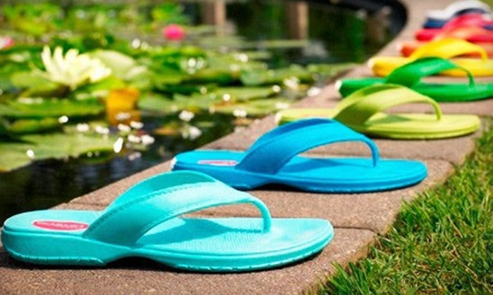 Okabashi - Hartford: $15 for $30 Worth of 100% Recyclable Sandals from Okabashi