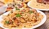 2-Gänge-Menü mit Pizza oder Pasta