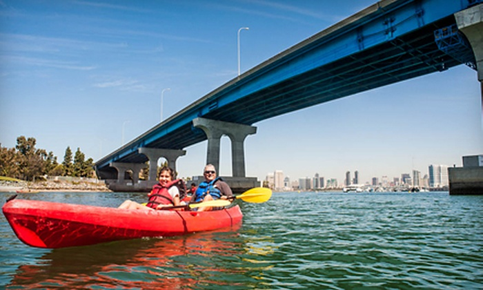 Bike & Kayak Tours - Coronado: Double Kayak Rental or Kayak Tour of Coronado Bay for Two from Bike & Kayak Tours (Up to 51% Off)