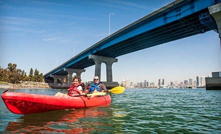 Double Kayak Rental or Kayak Tour of Coronado Bay for Two from Bike & Kayak Tours (Up to 51% Off)