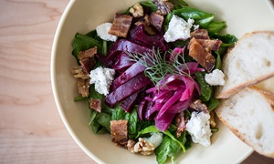 Watershed Pub & Kitchen: American Food & Craft Beer at Watershed Pub & Kitchen (Up to 47% Off). Two Options Available.