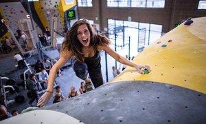 Momentum Indoor Climbing: Bouldering Day Pass for One or Two or Three-Month Membership at Momentum Indoor Climbing (Up to 45% Off)