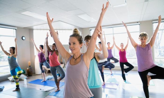 Om Studio Central - Boston: Two Yoga Classes at OM Studio Central (45% Off)