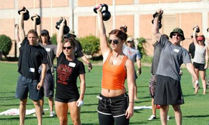 Rock the Bells Kettlebell School - Springfield: 5 or 10 Fundamentals Sessions with Functional-Movement Assessment at Rock the Bells Kettlebell School (Up to 78% Off)