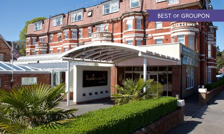 Bournemouth: 1 or 2 Nights for Two with Prosecco and Option for Dinner at the 4* Hallmark Hotel Bournemouth West Cliff