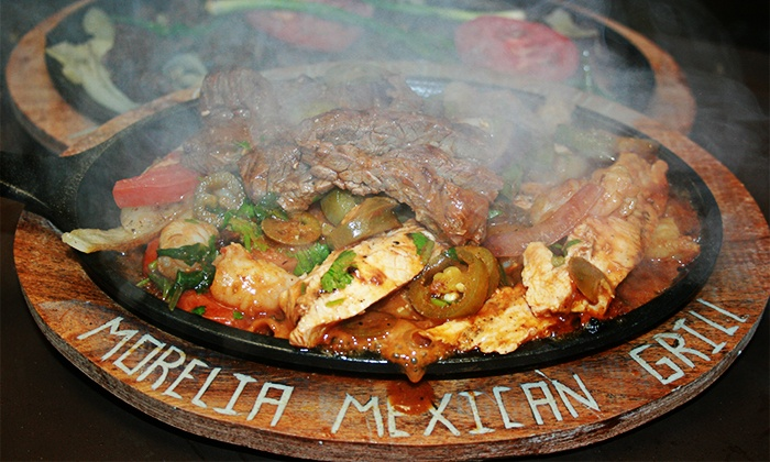 Morelia Mexican Grill - Multiple Locations: Mexican Lunch or Dinner for Two or More at Morelia Mexican Grill. Three Options Available (Up to 40% Off).