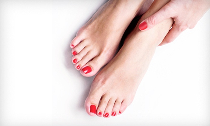 Aora Salon & Spa - Orlando: One or Two Star Treatment Pedicures or One Star Treatment Mani-Pedi at Aora Salon & Spa (Up to 68% Off)