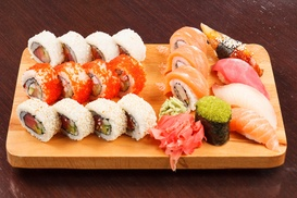 I Sushi: $1 Buys You a Coupon for Save 10% On Party Trays at I Sushi