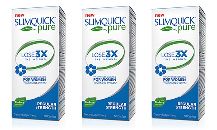 Slimquick Pure 3x Dietary Supplement